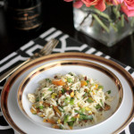 RECIPE Orzo Salad with Dried Apricots, Pistachios & Ginger