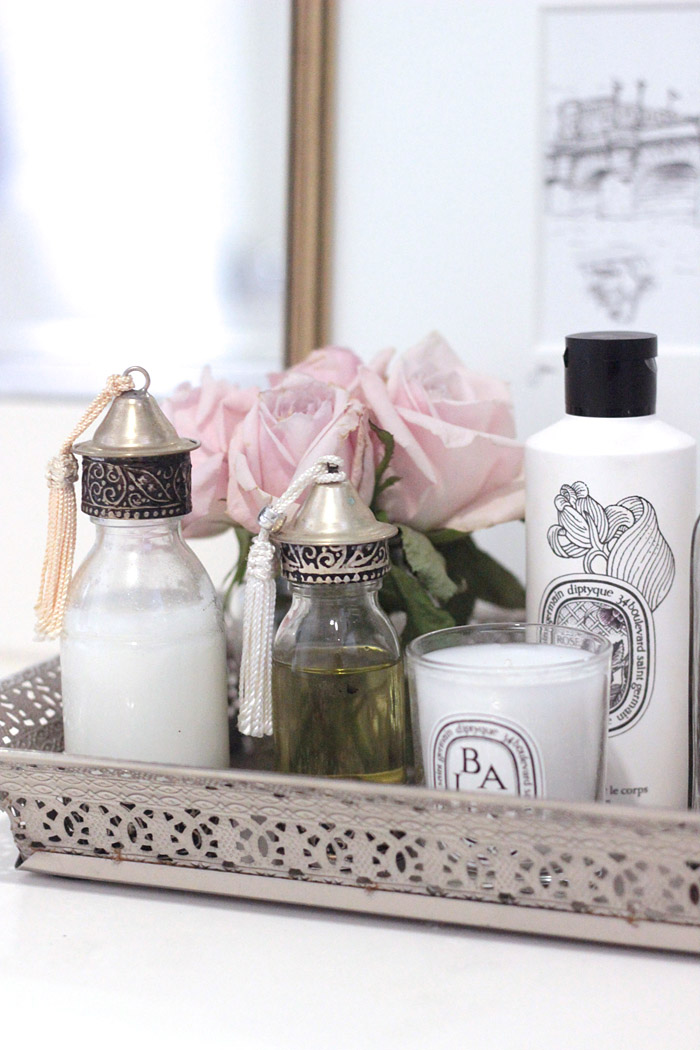 How To Style A Bathroom Tray Erika Brechtel