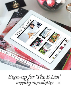 Sign-up for the The E List newsletter