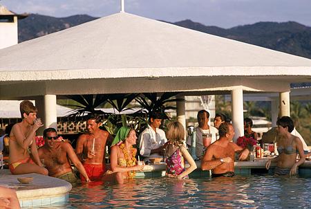 Racquet Club Pool Acapulco By Slim Aarons 1968