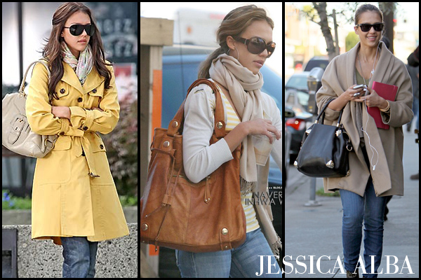 Jessica Alba's comfie chic