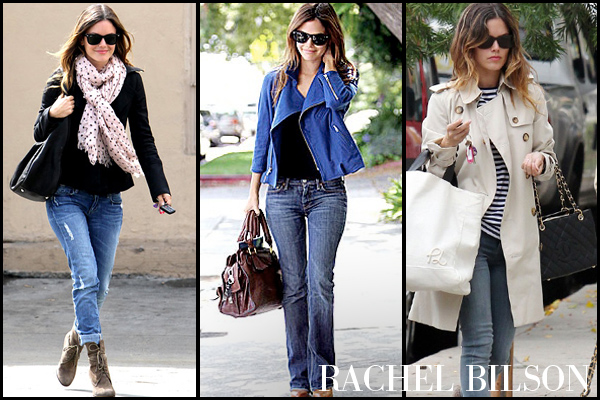 Rachel Bilson's structured casual