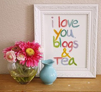 Made By Girl: blogs and tea
