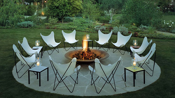 The Parker Palm Springs firepit