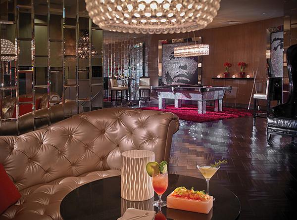 The Riviera lobby