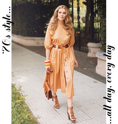 Fashion on 70s Style  All Day  Every Day   Small Shop  A Brand Styling Studio