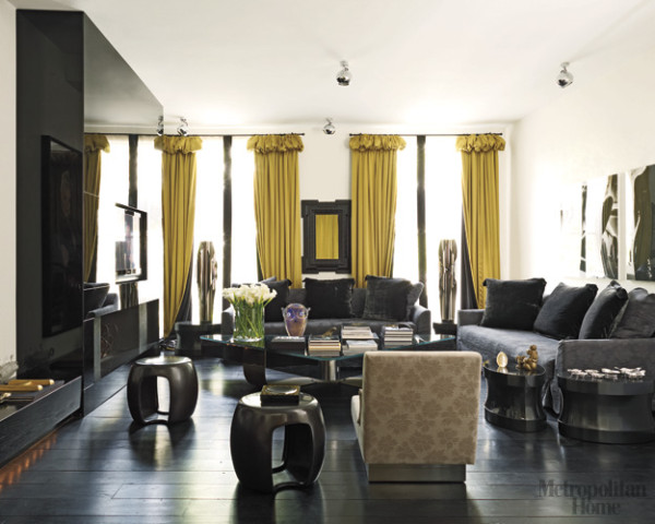 Kelly Hoppen living room Met Home via the house of sukio