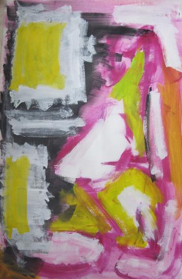 "Nicole Cohen ""Graffiti Series, Delancy Street"""