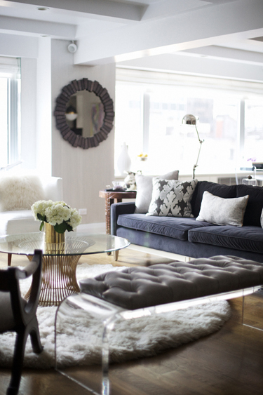 RUE Nicole Cohen living room