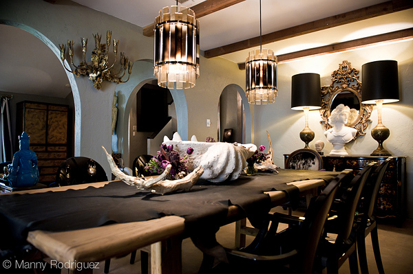 Manny Rodriquez dining room in RUE