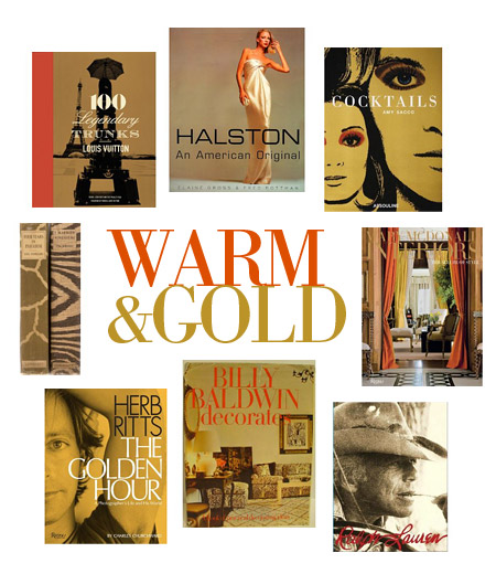 color stories: warm & gold