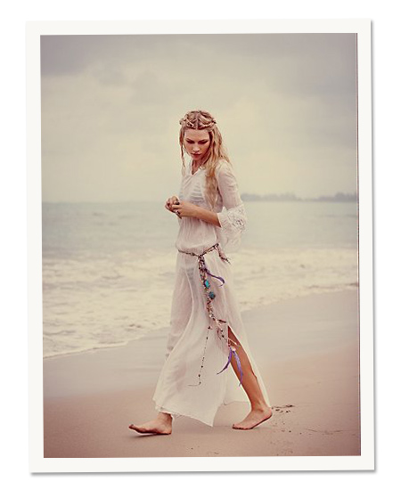 Beach Day: Free People's hooded maxi