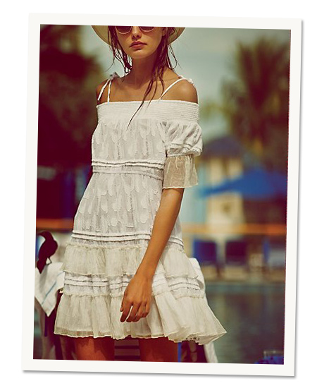 Beach Day: Free People's summer flora dress