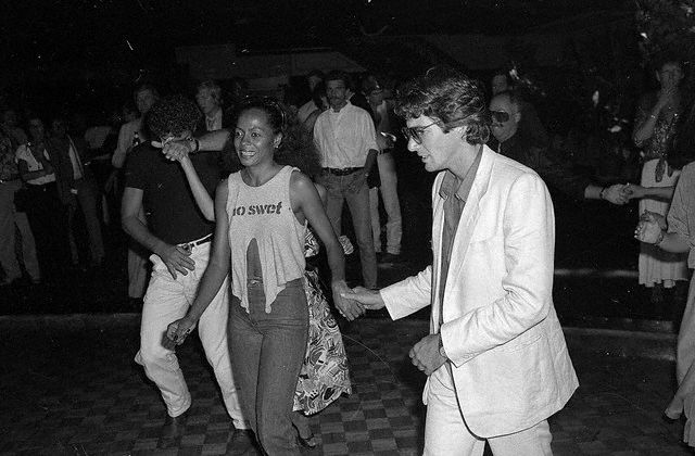 Diana Ross and Richard Gere at Studio 54