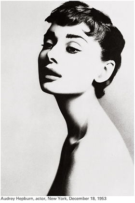 Richard Avedon: Audrey Hepburn, 1953