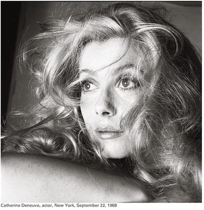 Richard Avedon: Catherine Deneuve, 1968