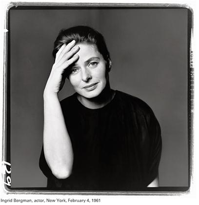 Richard Avedon: Ingrid Bergman, 1961