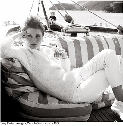 Richard Avedon: Suzy Parker, 1962