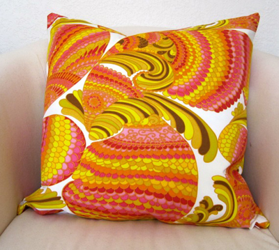 Etsy purchase: Trina Turk pisces pillow, Willa Skye Home