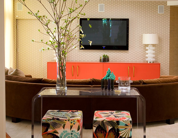 mdesign benedict canyon family room