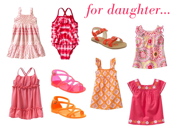 pink & orange boho for daughter