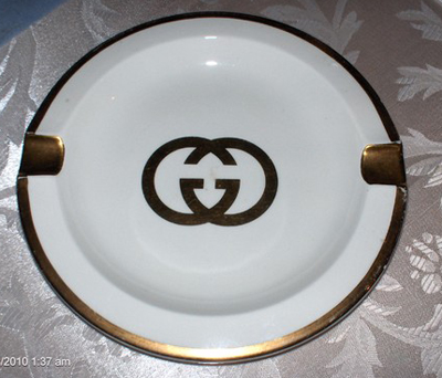 Etsy purchase: 1970s Gucci ashtray