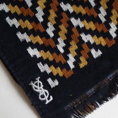 Etsy purchase: vintage YSL towel