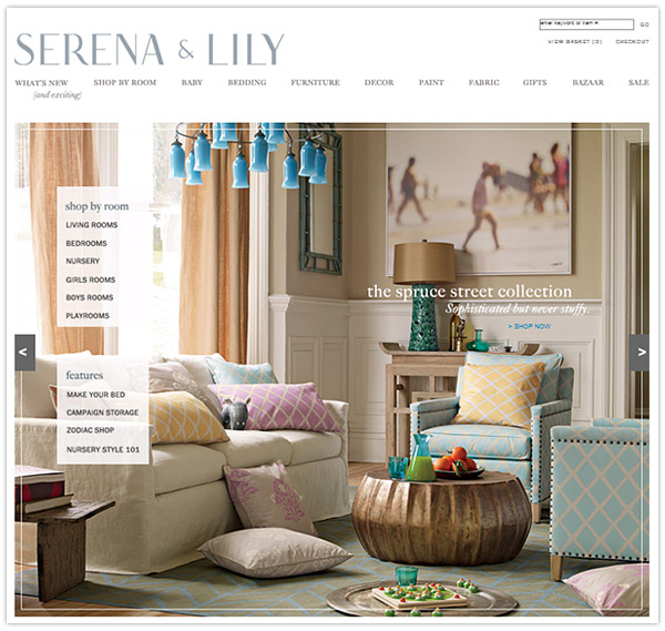 Serena Lily Love The Burlap Look Of The: Serena & Lily's Brand New Brand