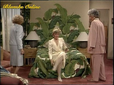 Golden Girls Blanche's bedroom