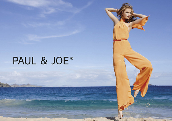 Paul & Joe orange jumpsuit