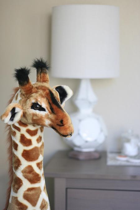 Jackson's nursery: giraffe