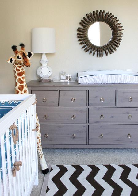 Jackson's nursery: dresser