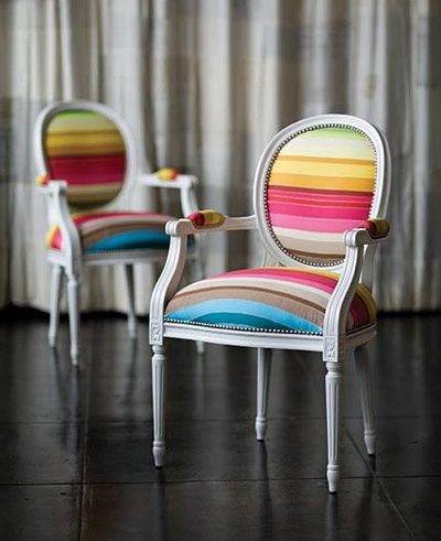 rainbow louis chairs via roost home