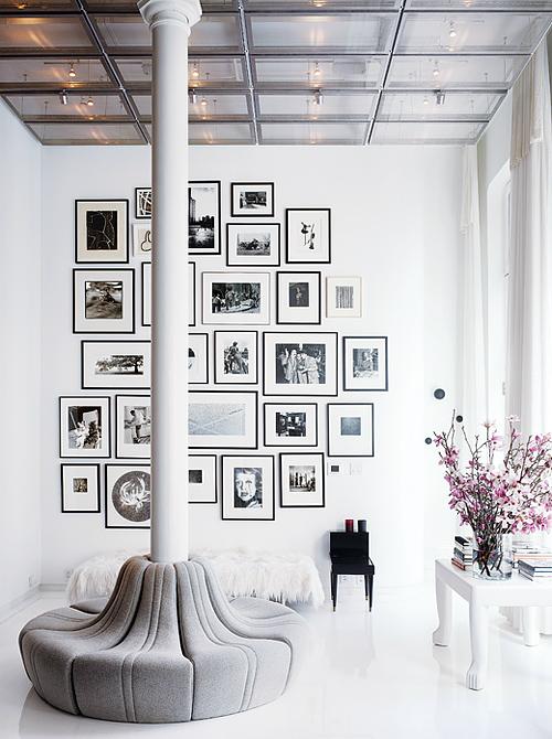 Lela Rose storefront/living room in NYT