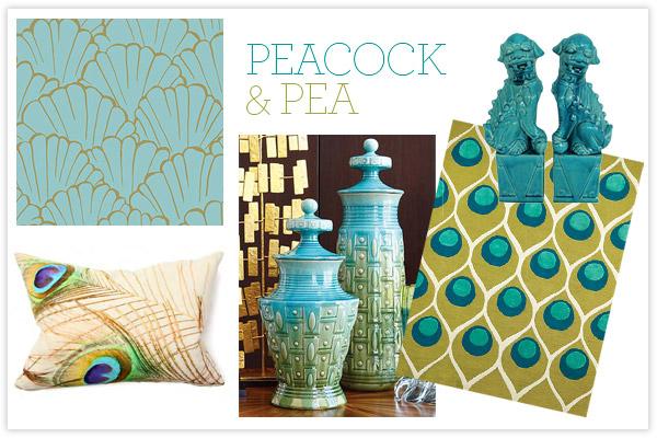 Modern-Chic-Home-peacock-pea