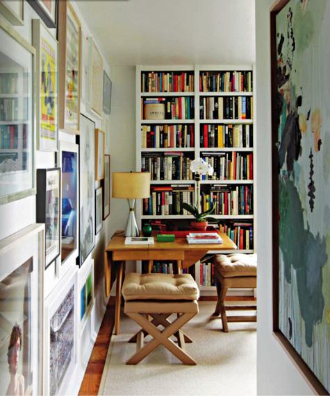 library via The NY Home Observer