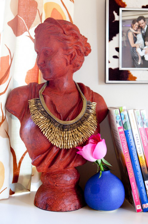 Jewelry Busts Organizing Displaying Erika Brechtel
