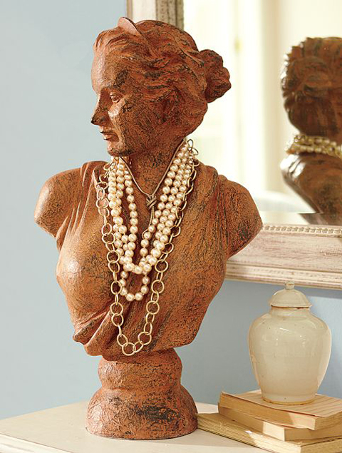 Jewelry Busts Organizing Displaying Erika Brechtel