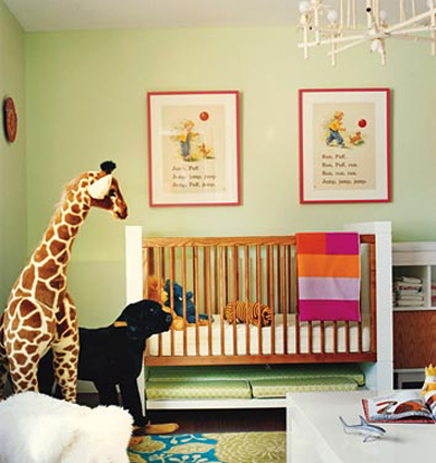 personalizing a nursery: Barrie Benson in Domino