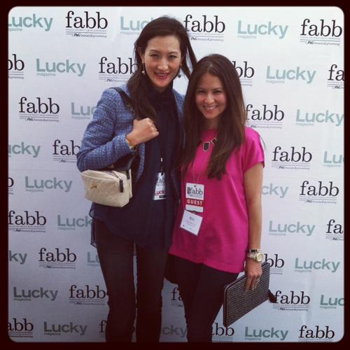 Jennet Chow of Jellypop Shoes & Erika Brechtel of small shop, Lucky FABB