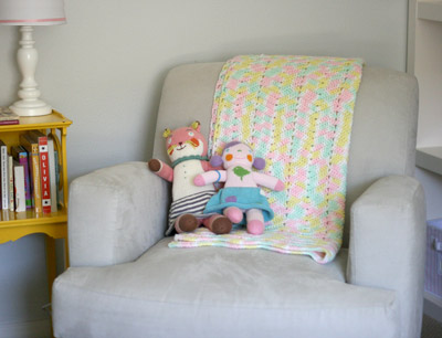 personalizing a nursery: family handmade item