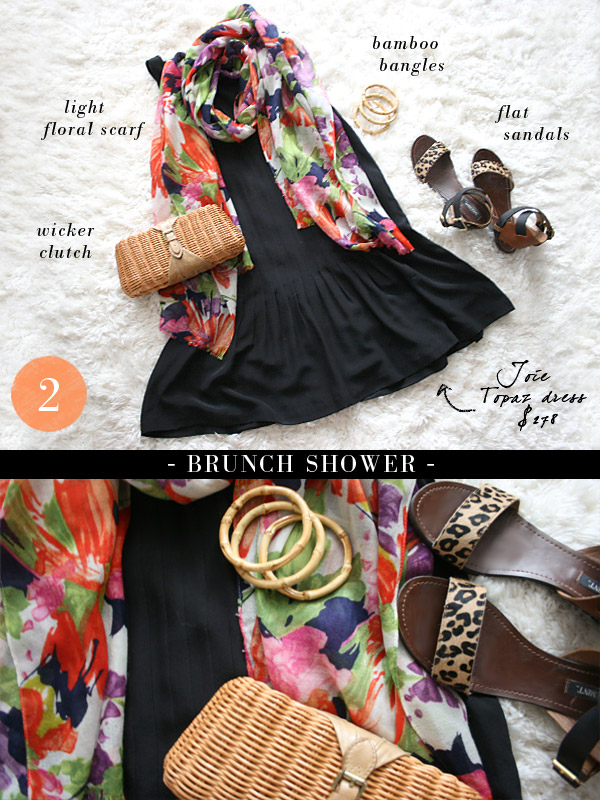 "small shop: Joie dress styled ""brunch shower"""