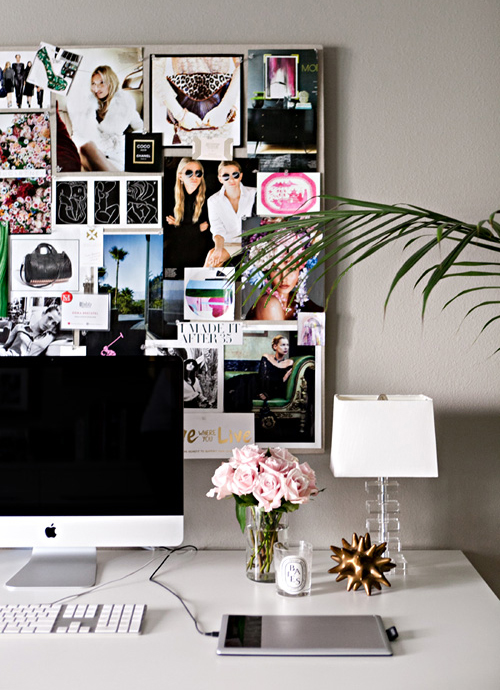 Pinterest picks inspiration spaces for Office space inspiration