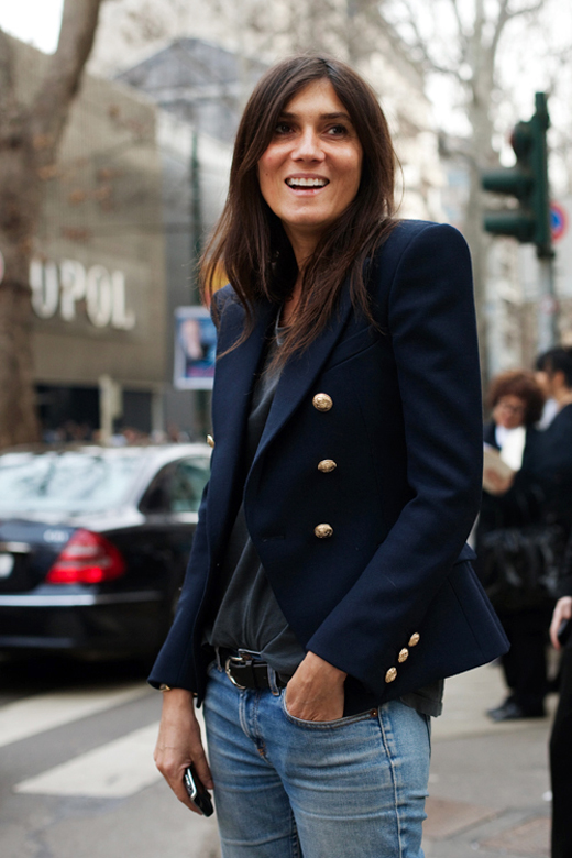 street style idol emmanuelle alt erika brechtel. Black Bedroom Furniture Sets. Home Design Ideas