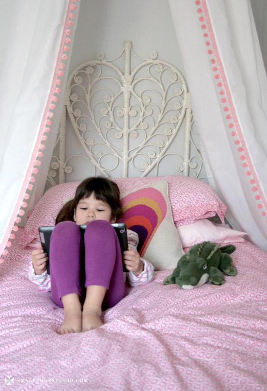 D I Y Bed Tent Canopy Erika Brechtel