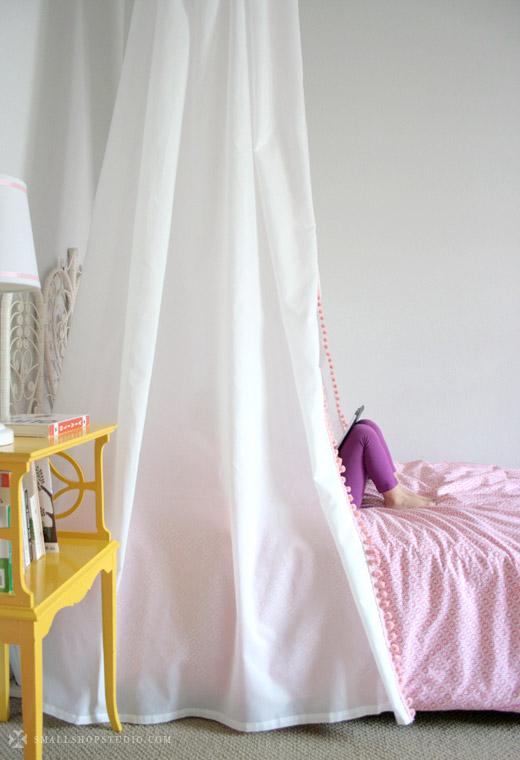 D.I.Y. Bed Tent Canopy - Erika Brechtel