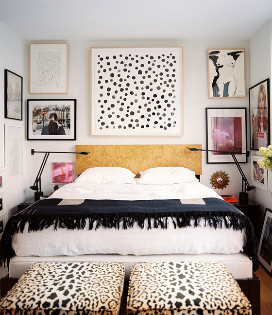 femme modern new gallery wall scheme erika brechtel. Black Bedroom Furniture Sets. Home Design Ideas