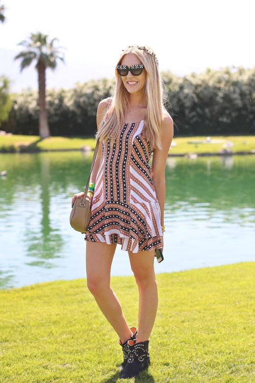 Lacoste Live Coachella party Shea Marie