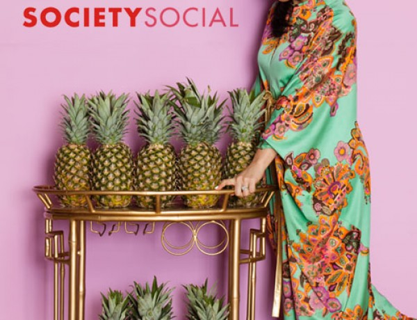 Society-Social-giveaway-cocktail-party-props-printemps-pineapple-bar-cart