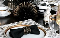 MY MODERN GLAM TABLE Get the Look with Stone Textile